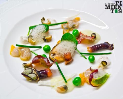 Ensalada de moluscos
